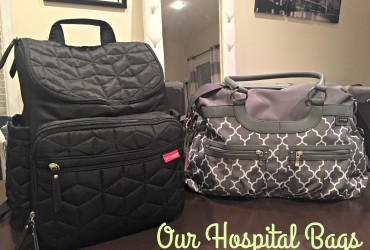 Pregnancy Diaries: Our Hospital Bags Packed!